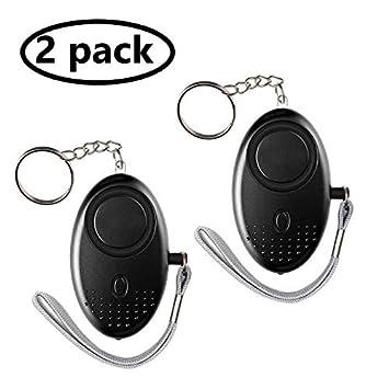 Amazon.com: Llavero de alarma personal de 140 dB, 2 unidades ...