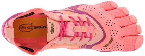 Air Femmes V En multisport Vibram De Rouge Multicolore Chaussures rose Courir Plein gwEFq6xB