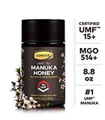 Comvita Raw, Wild, and Unpasteurized Manuka Honey comes from the nectar of the Manuka flower in the pristine forests of New Zealand. Traceable from hive to shelf.  Directions  Add Manuka to your tea, toast, yogurt or smoothies. Enjoy a spoonf...