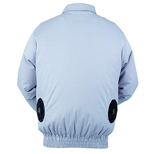 Fan-Air Conditioned Clothes Summer Outdoor Sports High Temperature Environment Cooling Work Jacket Suitable for Fishing Hunting Builder Cycling (Air Conditioned Jacket)