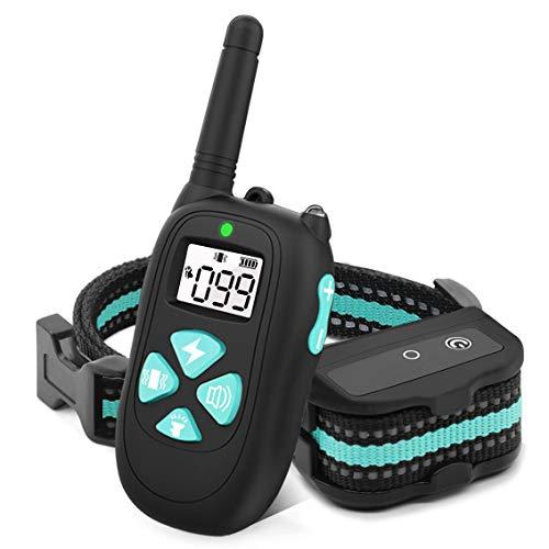 BESTHING Dog Training Collar, Dog Shock Collar, 3 Training Modes, Beep/Vibra/Electric Shock, Up to 1450Ft Remote Range…