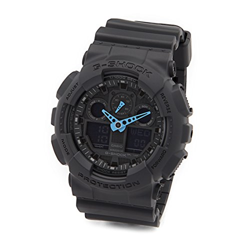 neon blue watch - 1