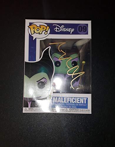 - ANGELINA JOLIE - Autographed Signed Maleficent FUNKO POP 09 Vinyl Figure DISNEY COA