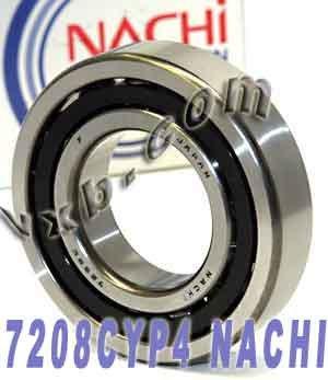 Abec 7 Japan Ball (7208CYP4 Nachi Angular Contact Bearing 40x80x18 Abec-7 Japan Ball)