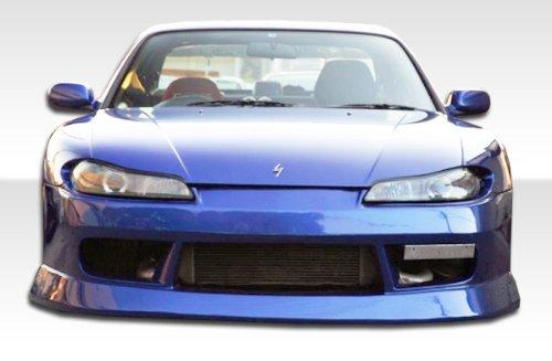 1989-1994 Nissan 240sx S15 Duraflex B-Sport Conversion - Includes B-Sport Front Bumper (104243), S15 OEM Fiberglass Hood (100889), and S15 OEM Fenders (100879). - Duraflex Body Kits