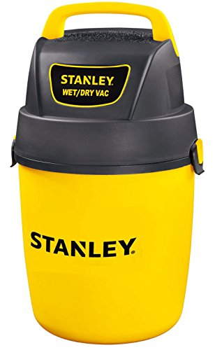 - Stanley Wet/Dry Vacuum, 2 Gallon, 2 Horsepower