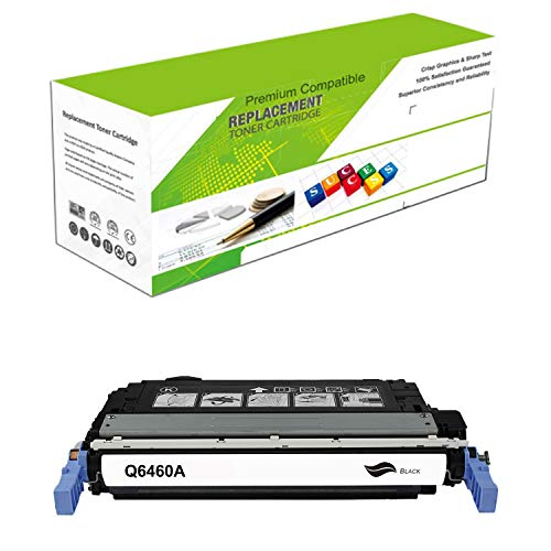 Q6460a Replacement - Premium Ink&Toner   Re-Manufactured Toner Cartridge Replacement for Q6460A - Standard Yield Laser Printer Cartridge Compatible with HP