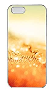 The beauty of the yellow crystal PC Transparent iphone 5 covers free for Apple iPhone 5/5S by mcsharks