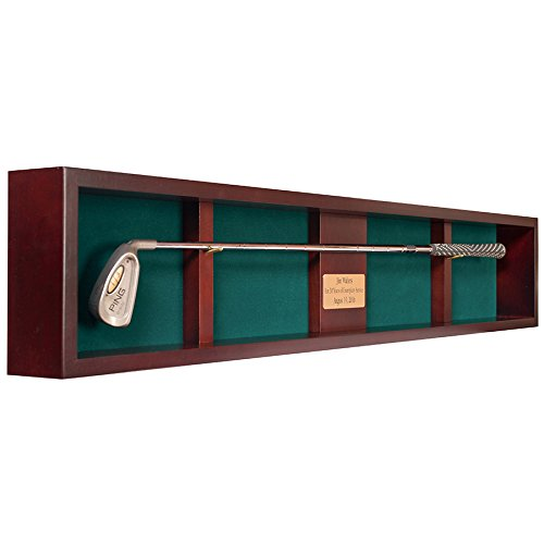 Golf Club Shadow Box Display (1 (Golf Memorabilia Shadow Box)