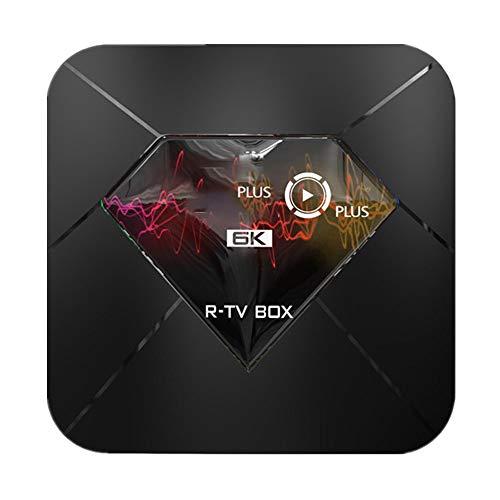 Lzz TV Box Android 9.0 TX6 CPU Allwinner H6 Quad-core ARM Cortex-A53 4GB RAM 64GB ROM 4K & 6K UHD Dual-Band WiFi 2.4Ghz…