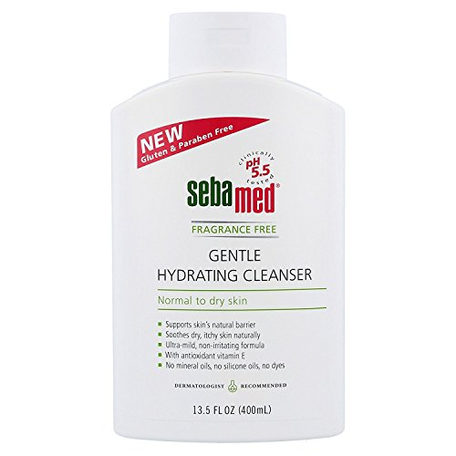 Sebamed Fragrance Free Gentle Hydrating Cleanser for Extreme Dry, Sensitive, & Rough Skin - Exfoliating Face, Acne, Body Wash - Safe for All Ages & Skin Types - w/ PH 5.5 Formulation (13.5 OZ)