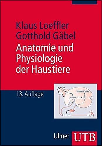 Anatomie und Physiologie der Haustiere: Amazon.de: Klaus Loeffler ...
