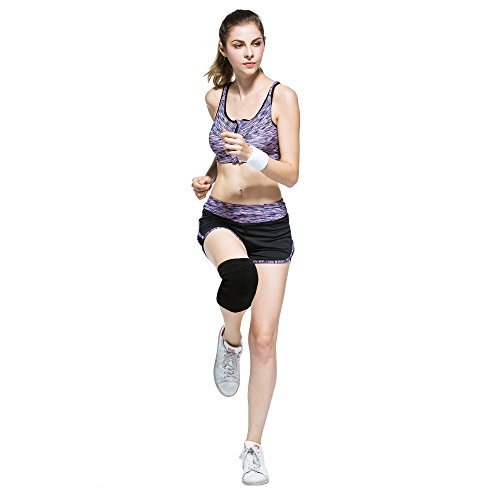 Hoter Premium Sports Cotton Compression Knee Band, Knee Sleeve, Knee Support for Joint Pain Relief and Running