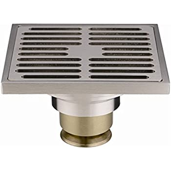 Phasat Contemporary 4 Inches Square Brushed Nickel Finish
