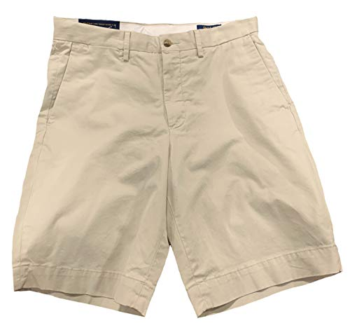 Polo Ralph Lauren Mens Stretch Classic Fit Chino Shorts (Basic Sand, 36) (Ralph Lauren De)