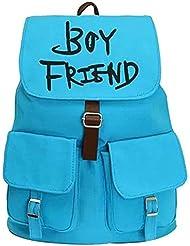 YOUR GALLERY KPOP Super Junior Womens Bookbag Travel Rucksack School Bag Satchel Canvas Backpack