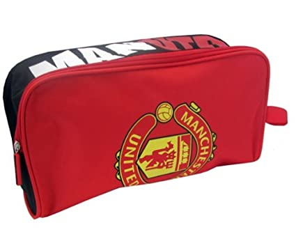 f0047332be Manchester United FC Focus Boot Bag  Amazon.co.uk  Clothing