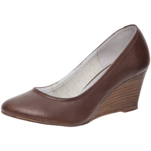Zapatos Les Cuero Mujer Marrón Vestir braun De Para Petites Parisiennes ErWqr1