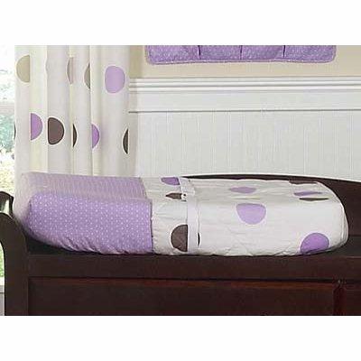 Sweet Jojo Designs Purple and Brown Mod Dots Changing Pad ()