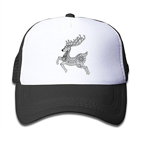 Alin-Z Running Deer Mesh Hats Trucker Hats Adjustable Baseball Cap for Boys Girls (Sharpening Pro Stone Stone)