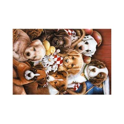 150 Piece Jigsaw Puzzle for Adults and Children - 1000 pc Mini Cute Jigsaw Puzzle Game Interesting Toys - Hand Made Puzzles Personalized Gift (F): Health & Personal Care