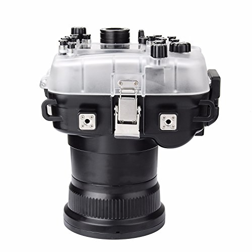 SeaFrogs 40M 130ft Diving Waterproof Housing Case for Canon 5D III IV 5D3 5D4 Supports 24-105mm Lens by SeaFrogs (Image #6)