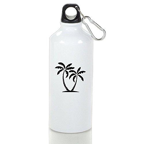 Guizhen Palm Tree Aluminum Leakproof Sport Water Bottle (Super Smash Bros Costumes Halloween)