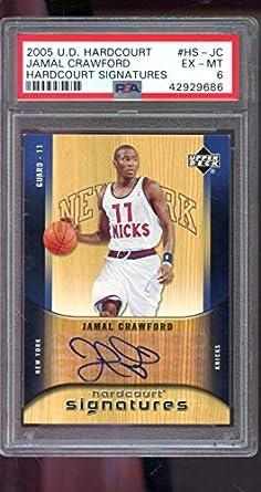 412c66f8 2005-06 Upper Deck Hardcourt Signatures Jamal Crawford Signed AUTO Autograph  PSA 6 Graded Basketball