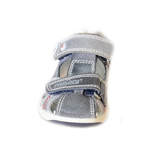 Primigi - Primigi Sandalias Niño Gris Cuero Velcro 86161 - Gris, 20