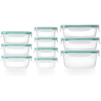 OXO Good Grips 20 Piece Smart Seal Leakproof Food Storage Container Set  sc 1 st  Amazon.com & Amazon.com: OXO Good Grips 20 Piece Smart Seal Leakproof Food ...