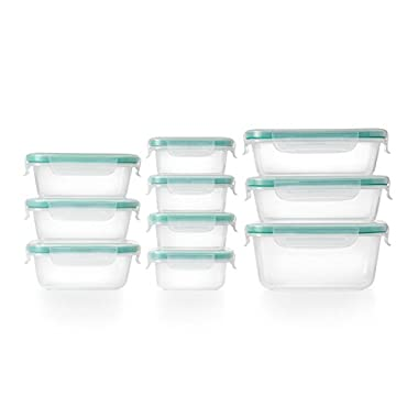 OXO Good Grips 20 Piece Smart Seal Leakproof Food Storage Container Set