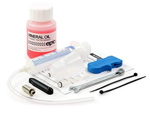 Epic Bleed Kit voor Shimano Road Schijfremmen en 100ml Minerale Olie Remvloeistof – Compatibel met Shimano 105/DURA-ACE…