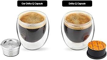 I Cafilas cápsulas recargables para Delta Q cápsulas filtro ...