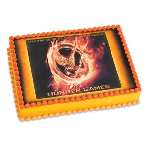Hunger Games Icing Art Edible
