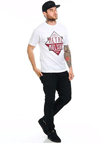 Metal Mulisha T-Shirt Liner Weiß