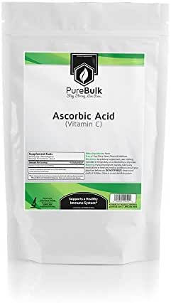 PureBulk Pure Ascorbic Acid (Vitamin C) Powder (100 Grams)