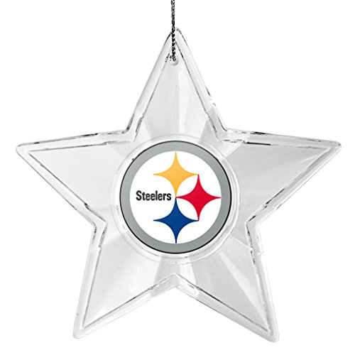 NFL Pittsburgh Steelers Traditional Acrylic Star Ornament