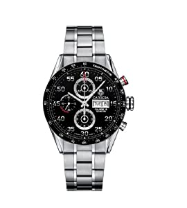 TAG Heuer Men's CV2A10.BA0796 Carrera Automatic Chronograph Watch by TAG Heuer