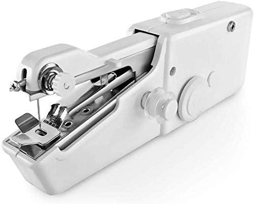 Portable Sewing Machine Handheld Sewing Machine Mini Portable Electric Stitching Machine Battery Power Handheld Sewing Machine Household Tool for Fabric