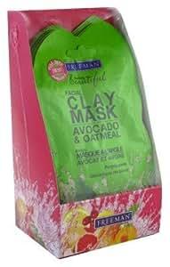 Freeman Feeling Beautiful Facial Clay Mask, Avocado & Oatmeal 0.5 Floz