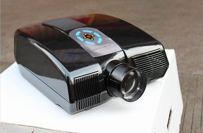 GOWE LED Projector 800x480 1800 Lumens 7inch LCD panel