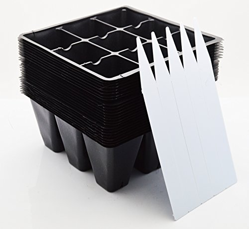 9greenbox-seedling-starter-trays-216-cells-24-trays-9-cells-per-tray-plus-5-plant-labels