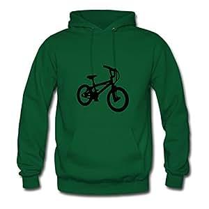 Bmx_02 Erinwood Hoodies Custom-made Women Fashionable Green