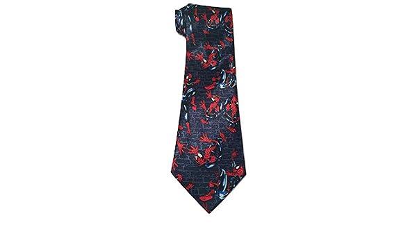Nueva corbata de la novedad de Spiderman: Amazon.es: Ropa y accesorios