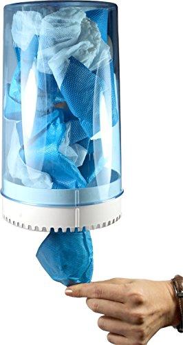 Wandspender Kunststoff für Überschuhe Größe: 25,5 x 15,5 cm von Medi-Inn
