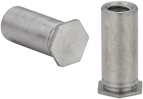 Unified Type BSO4 BSO4-440-10 Pem Blind Threaded Standoffs for Installation into Stainless Steel