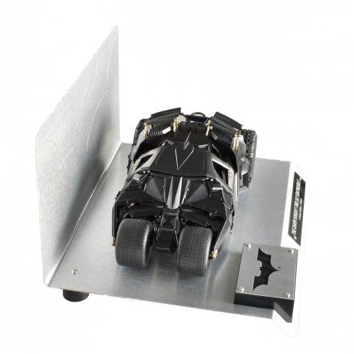 Hot wheels BCJ99 Elite The Dark Knight Trilogy Batmobile With Authentic Movie Batman Cape Material 1/18 Diecast Model by Hotwheels