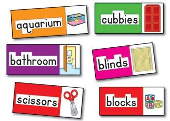 Print Rich Classroom Labels - Bb Set Print-Rich Classroom Labels