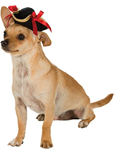 - Rubie's Costume 886856-S-M Co Pirate Girl Hat Pet Costume Accessory, Small/Medium