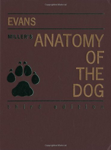 By Howard E. Evans - Miller's Anatomy of the Dog: 3rd (third) Edition